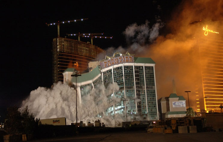 new_frontier_implosion_las_vegas